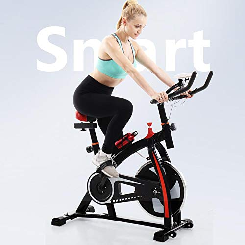 2019 NEW Shan_s Spinning Bicycle/Stationary Bike, Belt Drive Indoor Ultra-quiet Exercise Fitness Bicycle Equipment