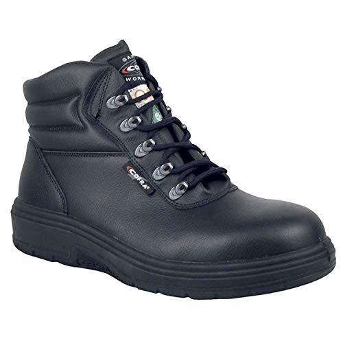Cofra 82020-CU0.W09 New Asphalt EH PR Safety Boots, 9, Black