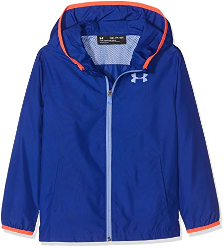Under Armour Mädchen Sack It Full Zip Jacket Jacke, Blau (Formation Blue), XS