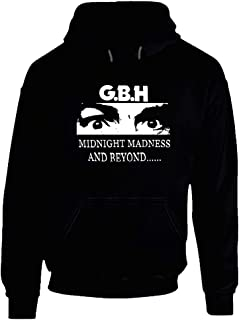 Vintage Gbh Midnight Madness Punk Charged Gbh Hoodie.