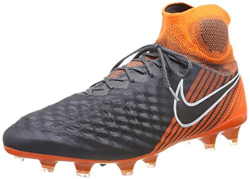Nike Magista Obra II Elite DF Fg, Scarpe da Calcio Uomo, Grigio, 41 EU