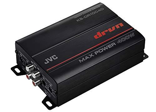 JVC KS-DR1004D 400 Watt 4-Channel Bridgeable Amplifier for Car & Marine and RZR/ATV/UTV/Cart Motorsports
