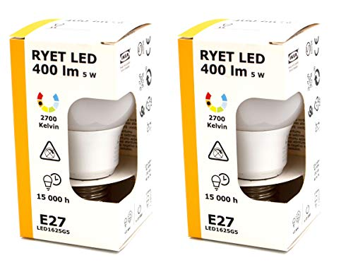 IKEA set van 2 LED-lampen
