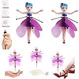 Lz Flying Fairy Doll, Hermoso pequeño avión de inducción de suspensión de Hadas...