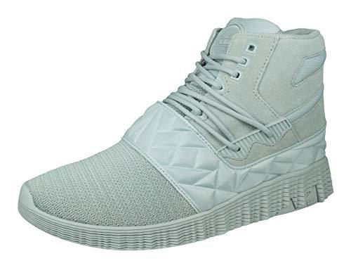 Supra Jagati Herren Sneaker Boots Hohe Freizeit Schuhe-Grey-39