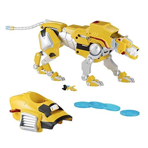 Voltron Legendary Defender Yellow Lion Combinable Action Figure [Fire Armored Disc Launcher]