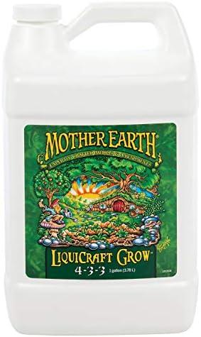 Mother Earth HGC733933 LiquiCraft Grow 4 3 3 Liquid Fertilizer for Vegetative Plants Flowers product image