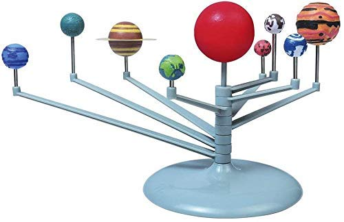 Ossian Solar System Planetarium Model Kit – Complete Build your Own Glow in the Dark Educational Science Model of the Solar System Set Fun Toy Game Xmas Gift Idea for Children Kids Adults - Ages 8+