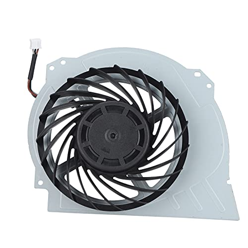 Game Cooling Fan, 3 Pin Cooling Fan for PS4 Pro 7000‑7500 Gaming Console, Durable Game Consoles Cooler Fan Replacement, Powerful Heat Sink, Stably Run