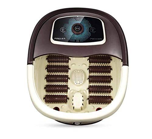 Preisvergleich Produktbild SZ JIAOJIAO Fußbad Heiße Infrarot-Automatik-Heiz Schwingung Blase Elektrisches Fuß Spa-Bad Durch Fußbad Fußbad