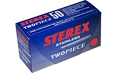 Sterex Steel Electrolysis Insulated Needles F5 Short Twopiece x 50 from micro mega
