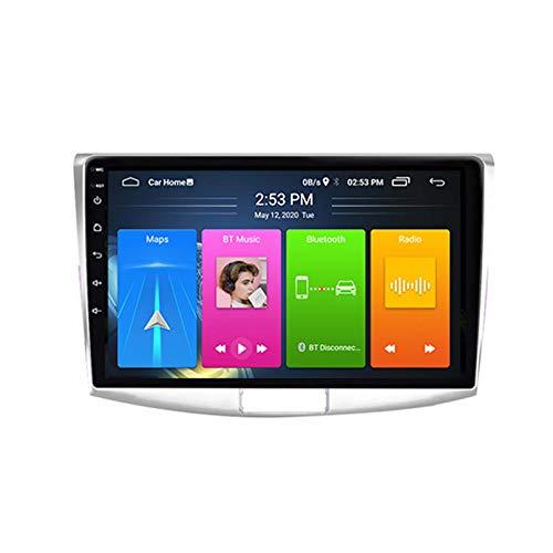 Android 8.1 Radio Para Automóviles Para Volkswagen Passat 7 B7 CC 2010-2015 Coche Coche Estéreo GPS Navegación Táctil Pantalla Player Doble Din Head Unit Support WiFi Volante Cont(Color:4G+WIFI:1+16G)