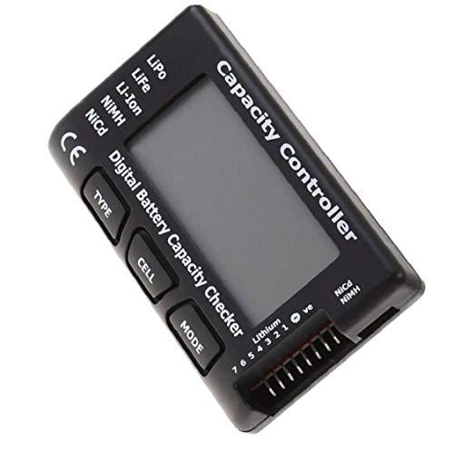 Controller Meter Tester Capacidad de la batería de Voltaje Comprobador Digital Cellmeter 7 para LiPo Vida Li-Ion NiMH Nicd Cell