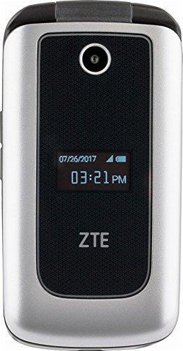 "ZTE Cymbal 4G LTE speed ""Verizon Prepaid"" Cell Phone - Silver"