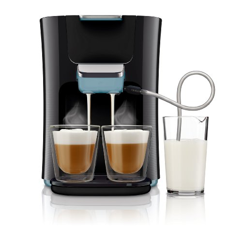 Philips HD7855/60 Senseo Latte Duo Kaffeepad Automat Misty Dawn/Schwarz