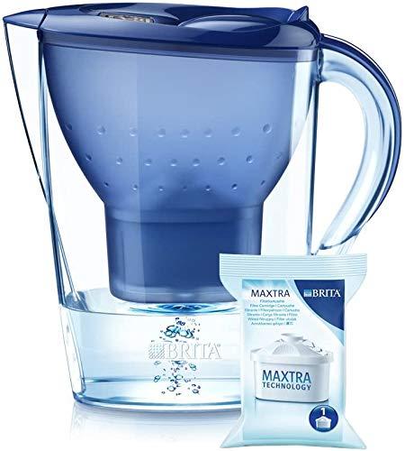 BRITA Marella XL Water Filter Jug and Cartridge, Blu