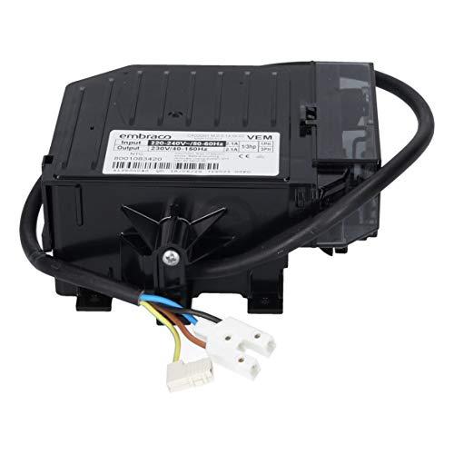 Siemens Bosch ORIGINAL 12021197 Inverter KompressorenInverter Kompressorenumwandler Umwandler Kompressorensteuerung Umformer Verdichter embraco CF02D01 Kompressor Gefrierschrank KühlGefrierKombi