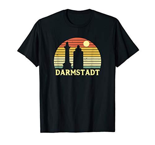 Darmstadt Souvenir Geschenk für Darmstädter & Darmstädterin T-Shirt