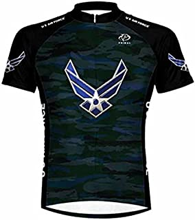 Primal Wear U.S. Air Force Engage USAF Cycling Jersey Men's Short Sleeve