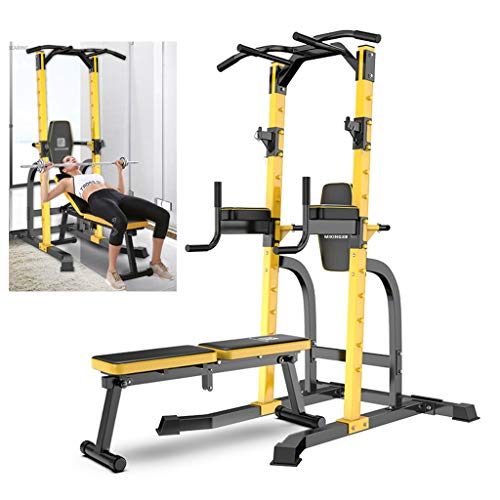 Pull-Up Bars Pull-ups Dumbbell Stool Domestic Indoor Horizontal bar Multifunctional Weightlifting Bed Fitness Equipment Squat Bench Press Can Bear 300kg Strength Training Equipment