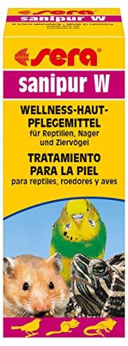 sera Sanipur W 15 ml hilft bei Verletzungen & Kratzern für Reptilien, Nager (Hamster, Meerscheinchen, Kaninchen) & Ziervögel (Wellensittich, Agaponiden & Nymphensittich) ein Wellness Hautpflegemittel