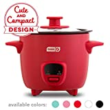 Dash DRCM200GBRD04 Mini Rice Cooker Steamer with Removable Nonstick Pot, Keep Warm Function & Recipe Guide,...