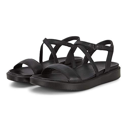 ECCO Flowt Lx Strap Sandales tendance pour femme - - Noir, 8-8.5