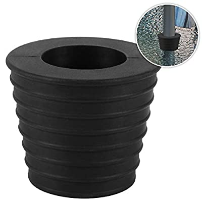 Umbrella Cone Wedge for Patio Table Hole Opening or Parasol Base Stand 1.9 to 2.7 Inch Umbrella Pole Diameter 1 1/2 Inch ?Black?