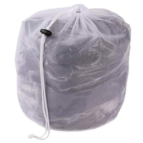 Finer Wasgoed Netzakken Koordnet Wasbesparend mesh Waszakje Sterke wasmachine Dikker netzak, klein gat M