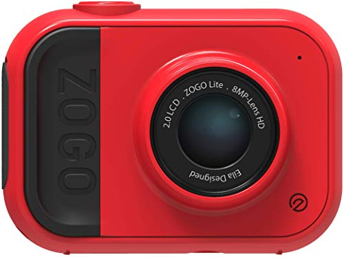 ZOGO 8MP Kamera und Action Kamera für Kinder mit eingebautem Akku und eingebautem Speicher