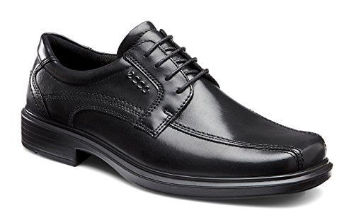 ECCO Men's Helsinki Oxford,Black,44 EU (US Men's 10-10.5 M)