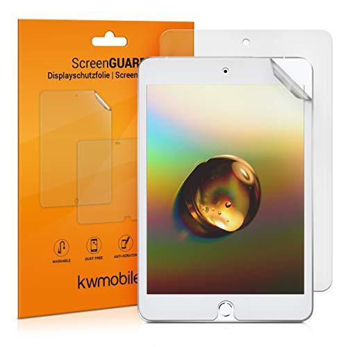 kwmobile 2X Schutzfolie kompatibel mit Apple iPad Mini 5 (2019) - Folie entspiegelt Full Screen Tablet