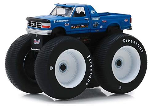 Greenlight 49040-E Kings of Crunch Series 4 - Bigfoot #5-1996 Ford F-250 Monster Truck 1:64 Scale