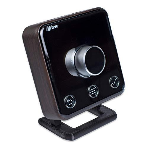 Anti-Rutsch-Ständer für Hive Thermostat v2 mit Befestigungsschrauben, mittelgroß, Schwarz