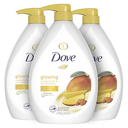 Dove, Body Wash to Revitalize and Refresh Skin Butter and Almond Butter...