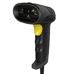 Inateck Barcode Scanner USB, portable Wired 1D handheld barcode scanner, BCST-31