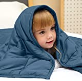 DYJXIGO Gewichtsdecke Therapiedecke Für Kinder, Weighted Blanket Als Einschlafhilfe Und Gegen Unruhe Für Entspannung Und Schlafstörungen 104 * 152CM-5 lbs/2.27KG