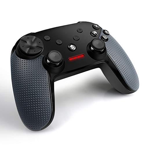Manette Sans Fil Gamepad Controller PC Contrôleur De Jeu Sans Fil Bluetooth Manette De Jeu, Trois Double Vibration Joystick Mode Joystick Prise En Charge Grip Switch, PS3, (PC360), DINPUT Fonction