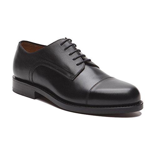 Prime Shoes Chicago Schwarz Box Calf Black Rahmengenäht edler Schnürschuh aus feinstem Kalbsleder D 41 / UK 7