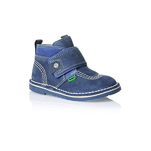 Kickers Adlar Strap Suede Infant 113255DK Azul/Azul UK 6–12