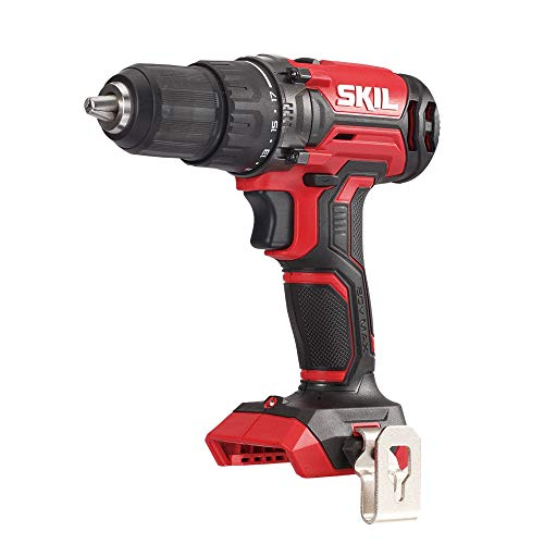 SKIL 20V 1/2 Inch Cordless Drill Driver, Bare Tool - DL527501