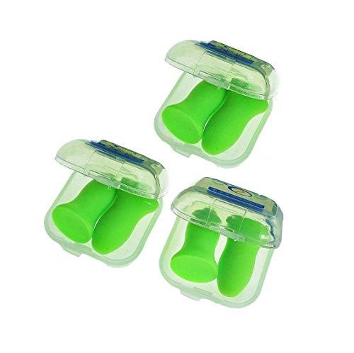 KAIMENG Tapones para los oídos de sueño reutilizables para reducción de ruido,...