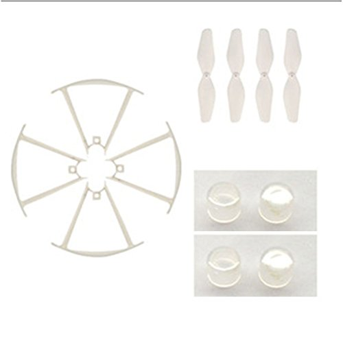 RONSHIN 1 Set (Propeller + Protective Frame + Lampshade) Repuestos para SYMA X22 / X22W / X21 / X21W RC Drone