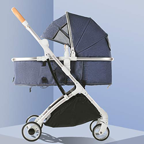Find Discount KHUY Carrycot and Pushchair, Lightweight Folding Buggy up to 25 kg with Lying Position...
