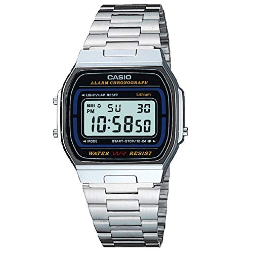 Casio Retro Collection A164WA-1VES Herrenuhr Chronograph