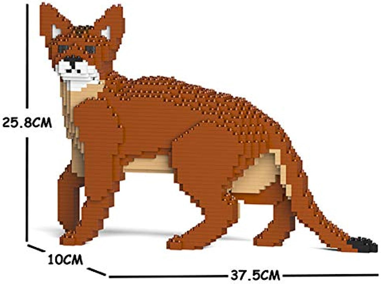 JECKA Animal Building Blocks for for for Kidults Abyssinian Cat 01S B07K1W8B5B | Elegant  8215ea