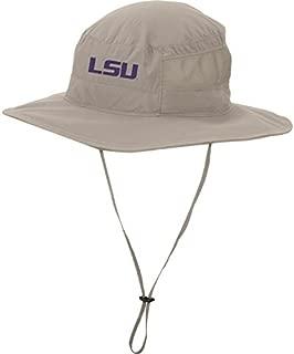 Columbia Men's LSU Tigers Khaki Bora Bora Booney II Hat (Lsu, One Size)