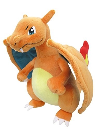 Sanei PP95 PokemonAll Star Collection Charizard Plush, 8', Orange