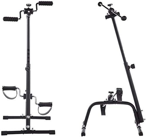 UIZSDIUZ Fitness Stepper Machine Paso Superior e Inferior Equipo de Entrenamiento de Ejercicios, Mini Paso a Paso, Resistencia Ajustable, Bicicleta de Pedal para Entrenamiento en casa