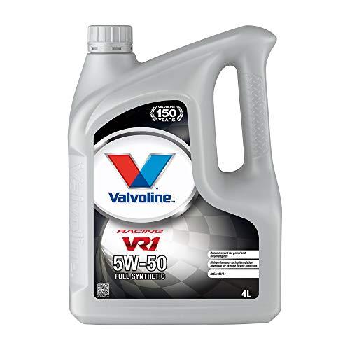 Valvoline Motoröl Motorenöl Motor Motoren Öl Motor Engine Oil Benzin VR1 Racing 5W-50 Rallye 4L